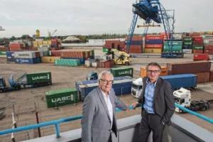 BTB - Barge Terminal Born klaar voor groei in containeroverslag