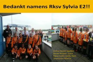 BTB - RKSV Sylvia E2 op bezoek