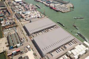 WHG / DHG - DHG realiseert nieuwe dc's naast terminals van Waalhaven Group