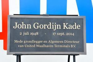 UWT - New quay: John Gordijn Kade
