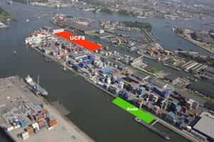 UWT - Nieuwe kade containercentrum