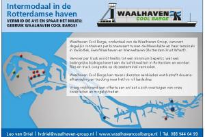 WCB - Intermodaal in de Rotterdamse haven